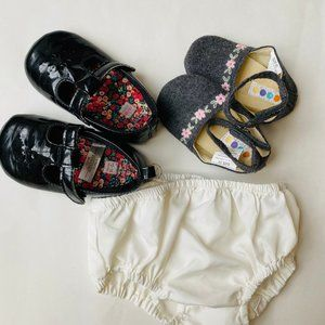 Gymboree Carters Baby Girl Shoes Shorts Set of 3